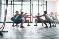 Squats: Kniebeugen richt